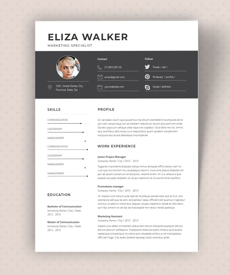 11 Resume Formats You Can Choose From