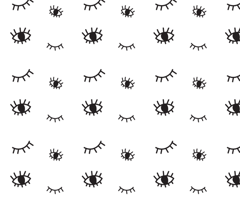 Colorful Fabrics Digitally Printed By Spoonflower Eyes Eyelashes Eyelashes Pattern Eyes Wallpaper Eyelash Print
