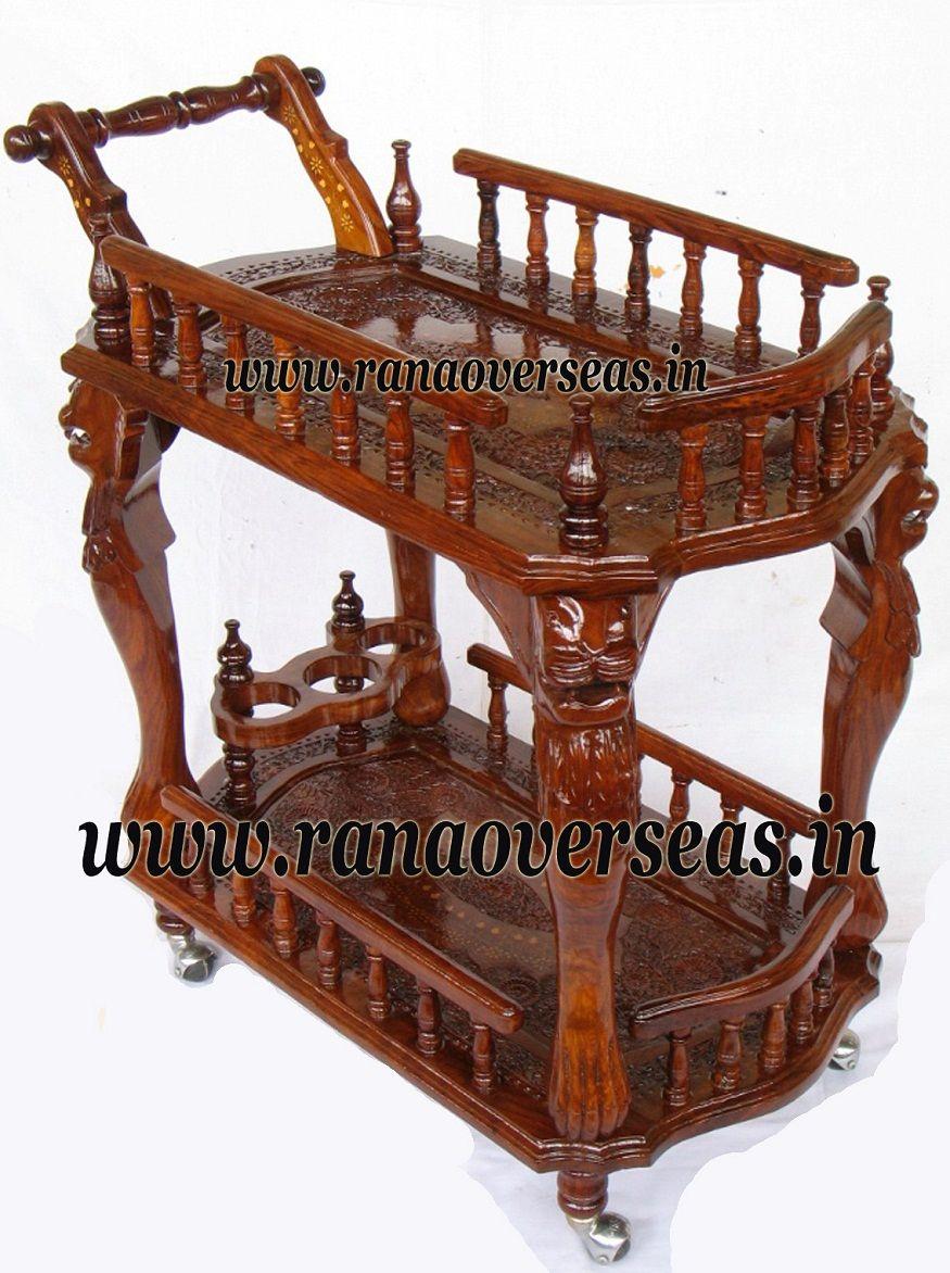 Design Toscano AF824250 Pemberton Cordial Caddy Kitchen Cart