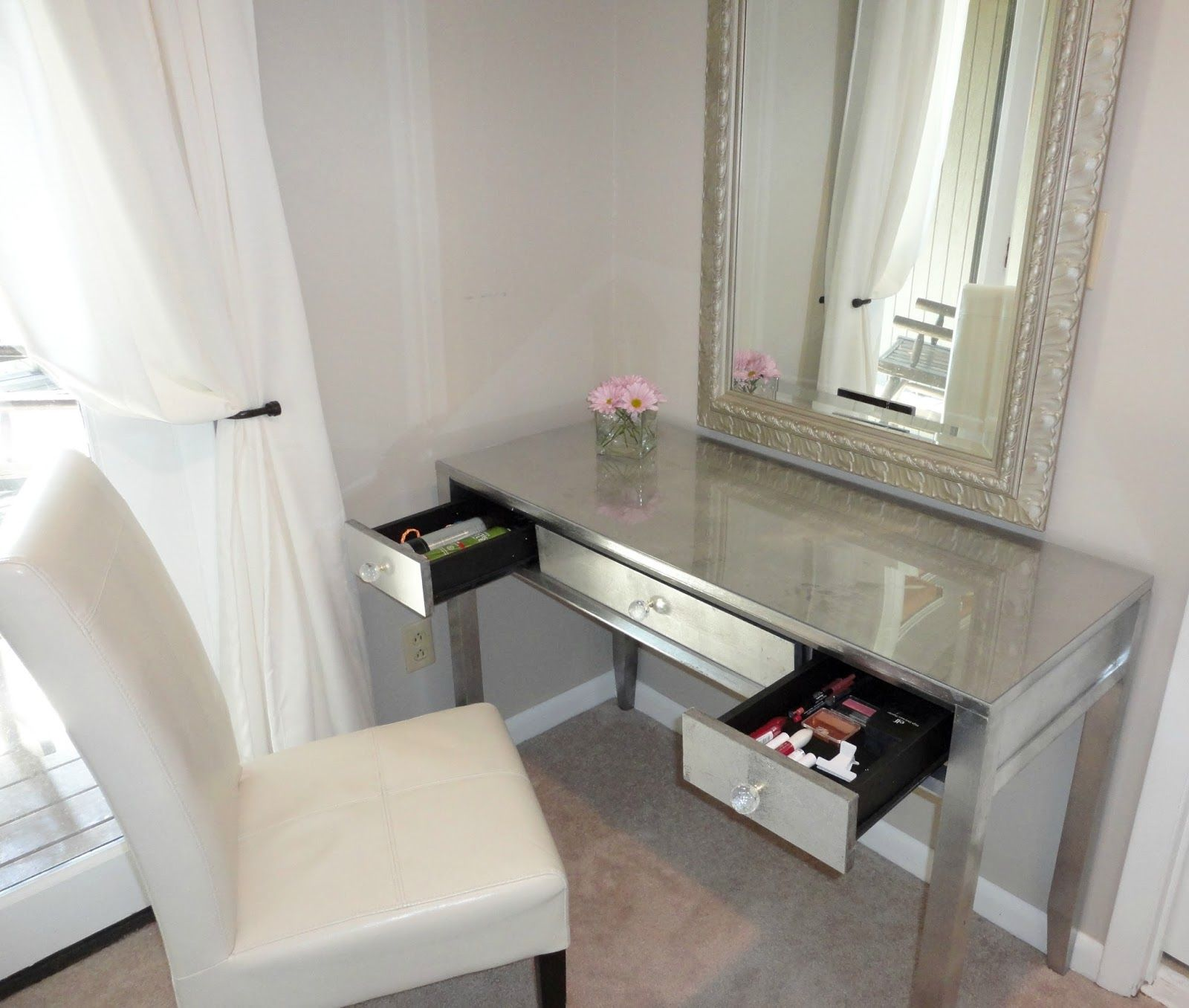 Diy mirrored vanity table images coffee table design ideas mirrored dressing table laura ashley my boudoir pinterest mirrored dressing table laura ashley geotapseo images geotapseo Gallery