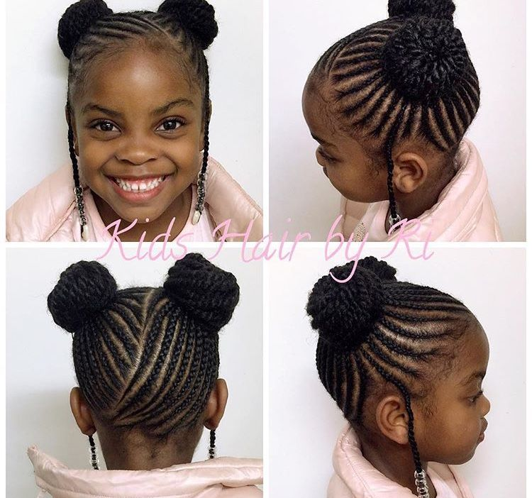 Cute Kid Protective Styles Black Kids Hairstyles Hair Styles Natural Hairstyles For Kids