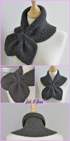 Keyhole Knit Heart To Heart Scarf Miss Marple Scarf Free Patterns