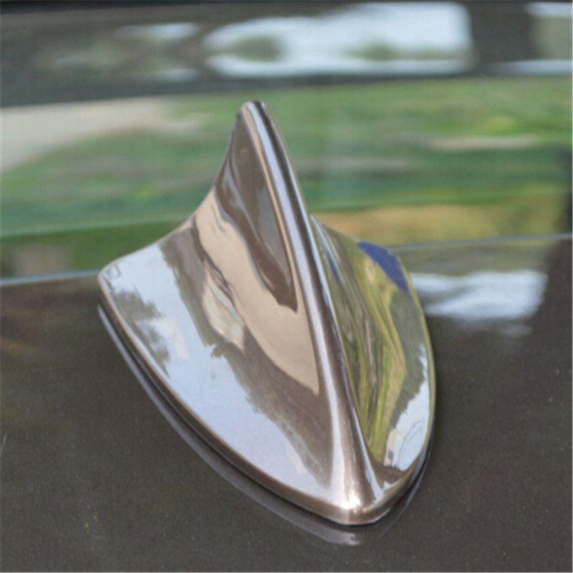 Auto Car Roof Decorative Shark Fin Body Dummy Antenna Aerial For Toyota Honda