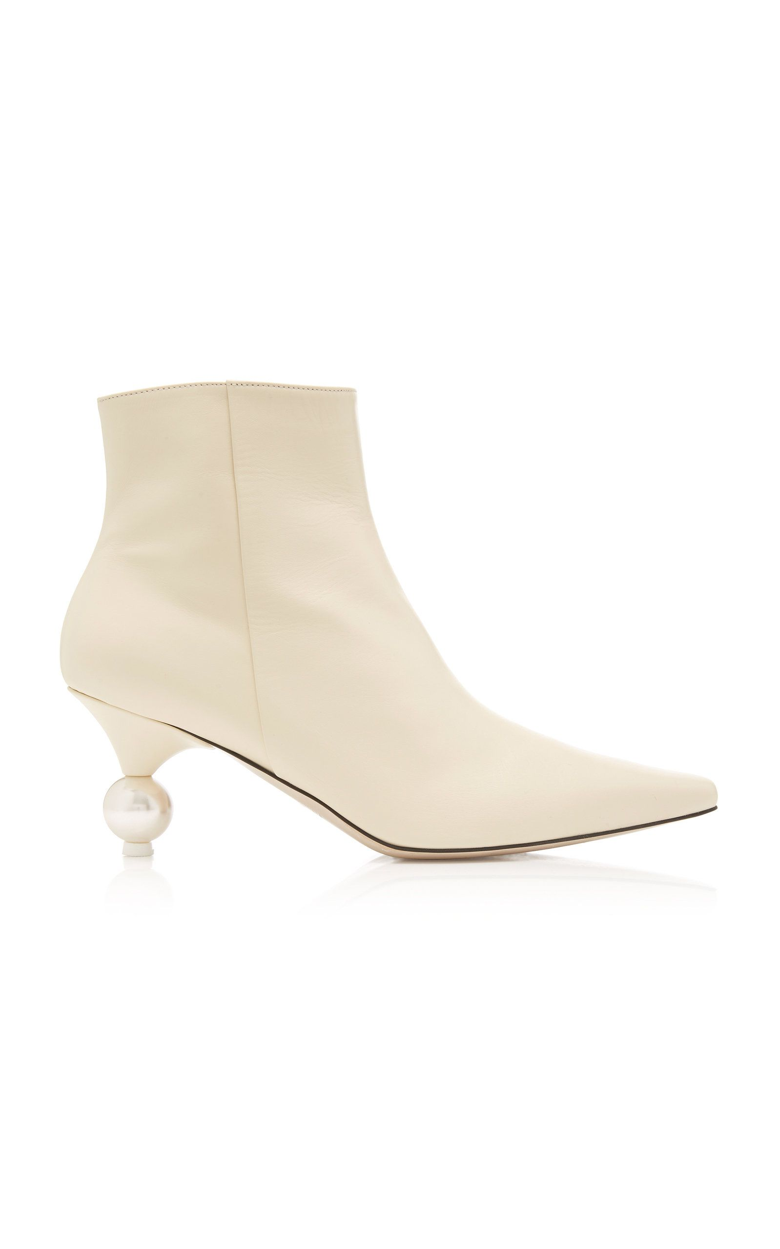 Yuul Yie Exclusive Martina Leather Ankle Boots Leather Ankle Boots Boots Fashion Boots