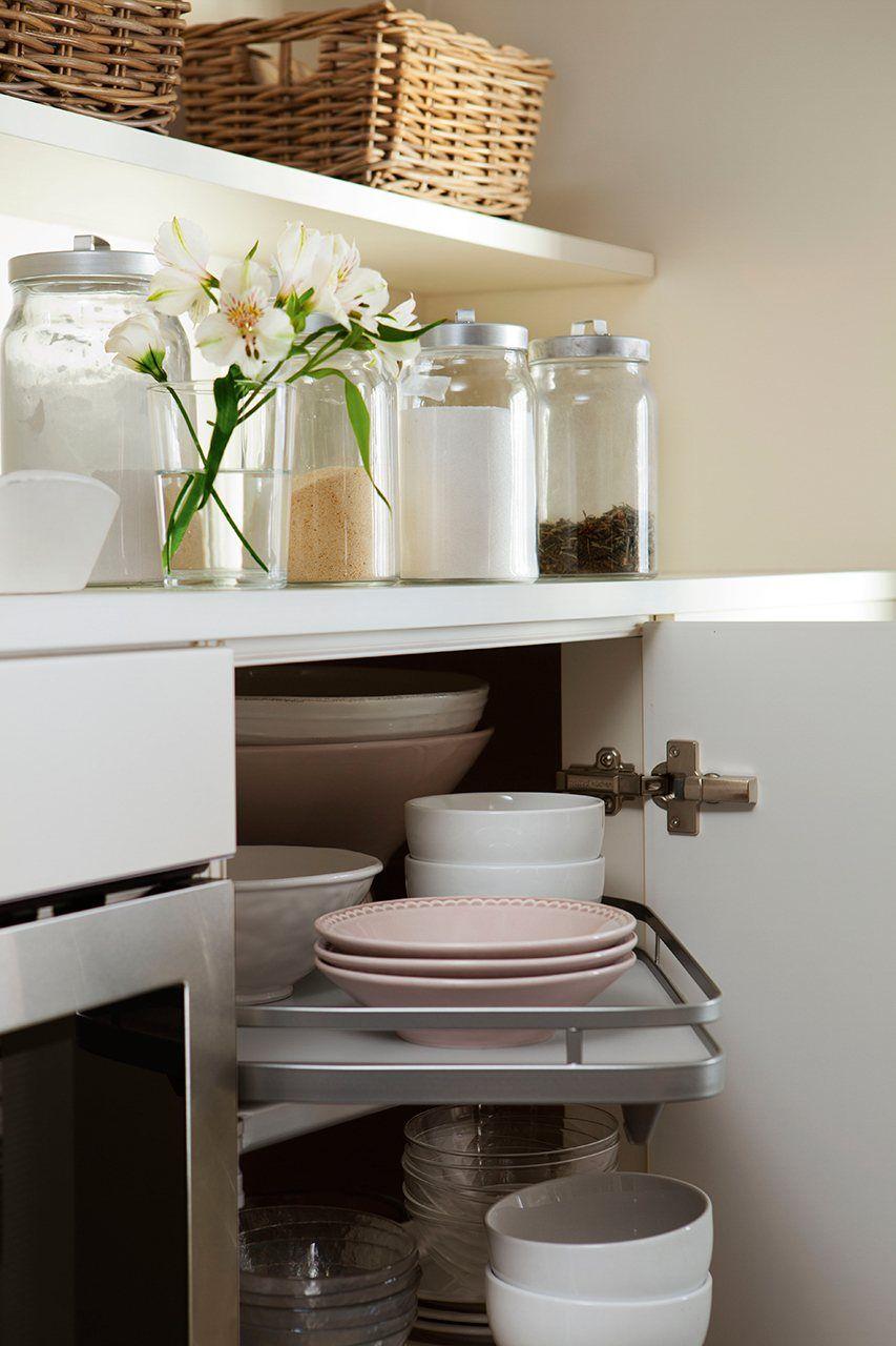 10 ideas fáciles para maximizar el espacio en la cocina | Cocinas ...