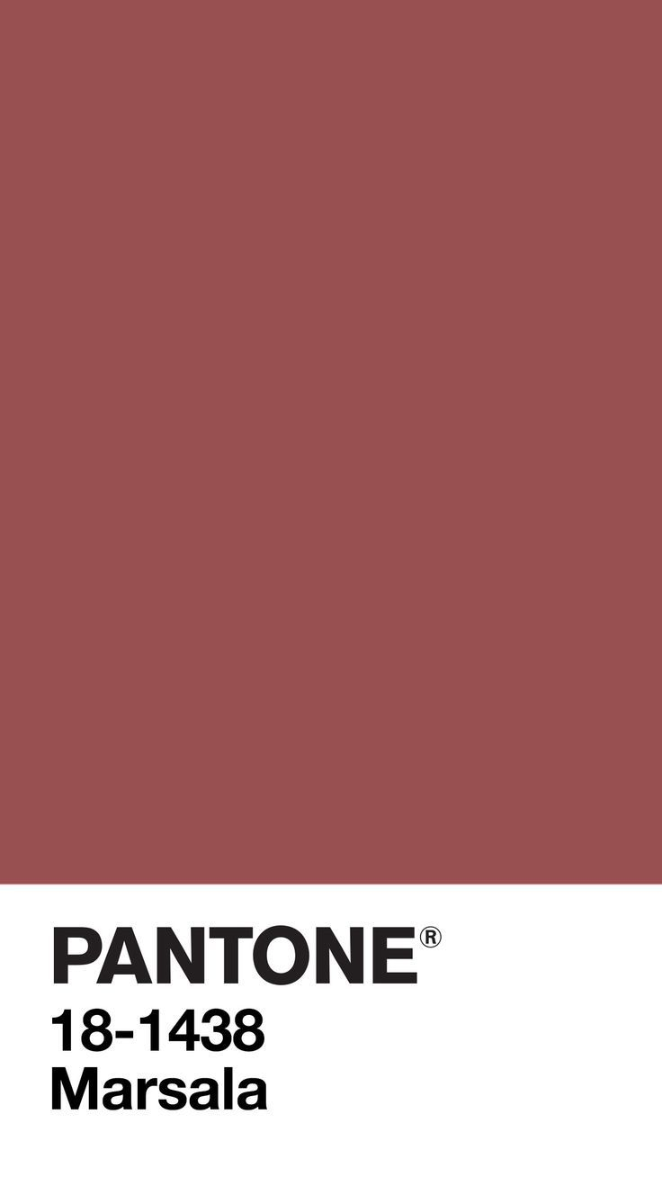 Waaterkant Com Color Of The Year 2015 Marsala A Naturally Robust And Earthy Wine Red Marsala Enriches Our Minds Bodi Pantone Color Pantone Pantone Palette