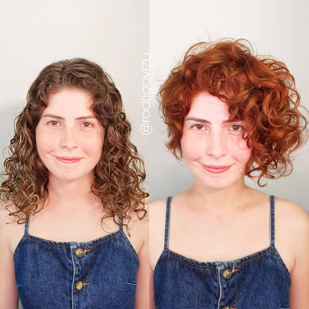 50 Best Haircuts and Hairstyles for Short Curly Hair in 2020 - Hair Adviser  in 2020 | Short curly hair, Curly hair photos, Layered curly haircuts