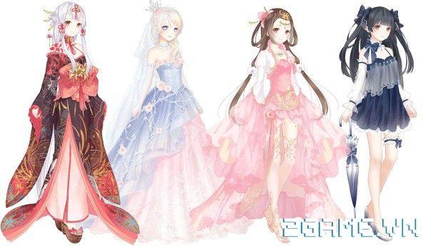 Ngôi Sao Thời Trang - Tìm hiểu tính năng trang phục đẹp Anime Girl Pink,
