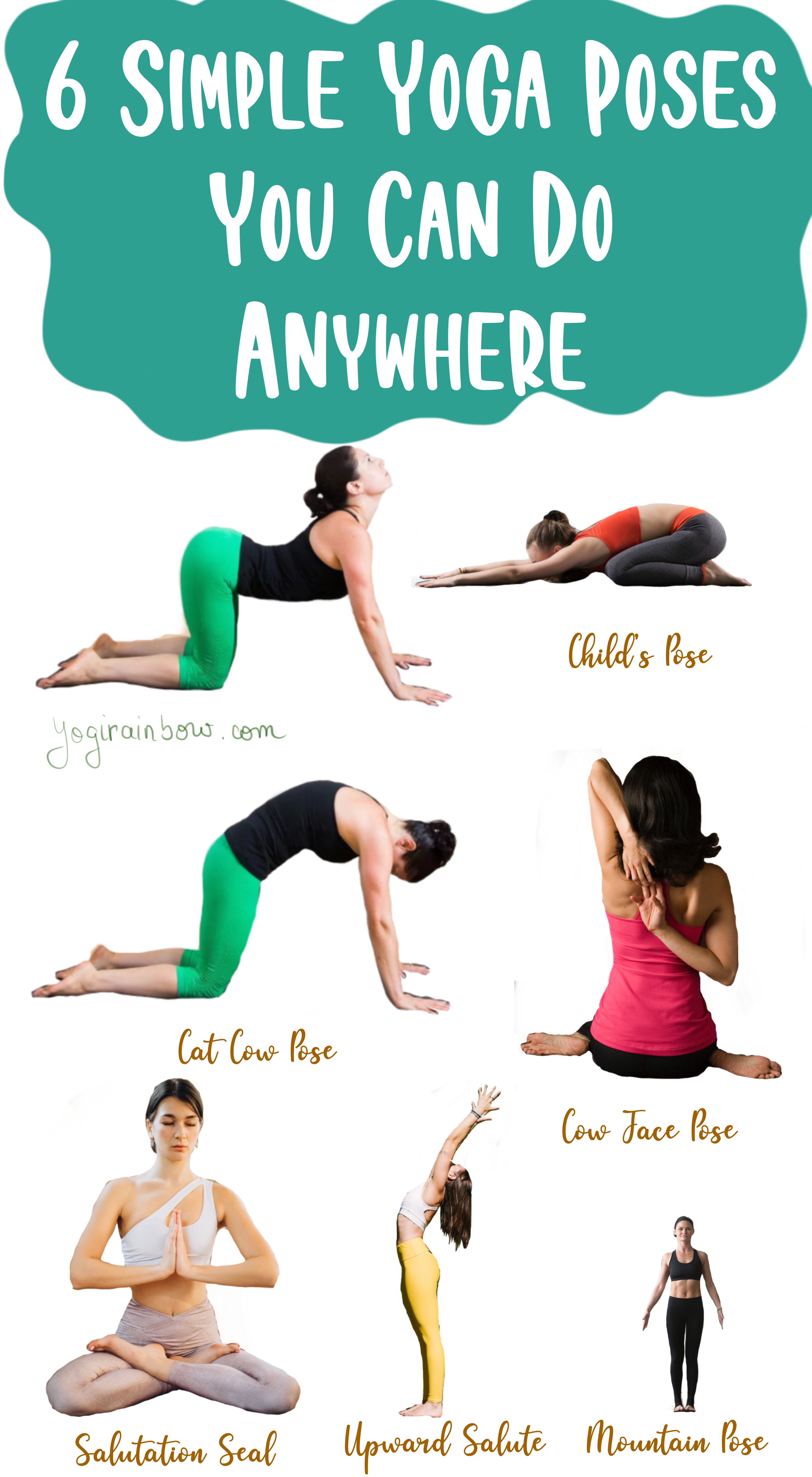 Yogirainbow Discover Your Inner Sanctuary Kids Yoga Poses Easy Yoga Poses Yoga Poses