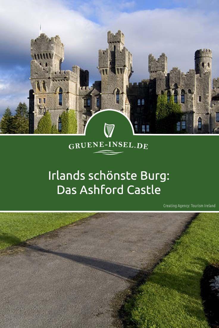 Das Ashford Castle gehört zu Irlands schönsten Burgen #irlandreisen #irlandurlaub #ashford #travelbugs