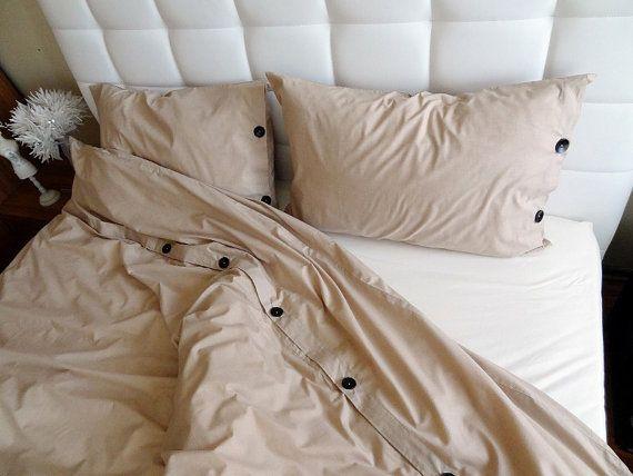 King Size Duvet Cover Set Brown Cotton Bedding By Shoppingfest 150 00 King Size Duvet Covers Duvet Cover Sets Duvet Covers