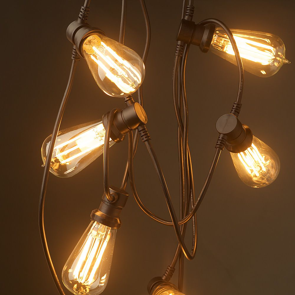 Vintage Edison 20 Bulb Party Lighting 240v In 2020 Bulb