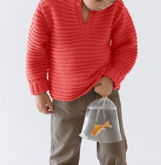 Breipatroon+Trui | Child Knitting Patterns | Pinterest