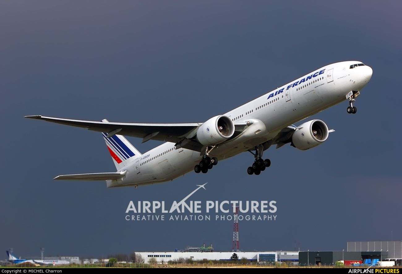 High Quality Photo Of Air France Boeing 777 300ER By MICHEL Charron Visit Airplane