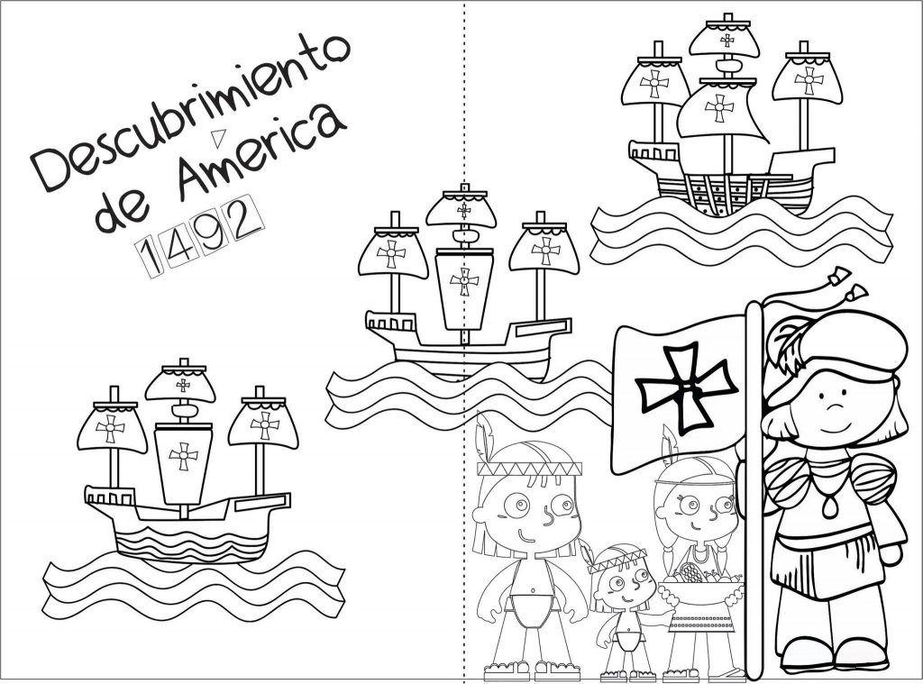 Material Interactivo Y Banners Para Trabajar Este 12 De Octubre Descubrimiento De America O Encuentro Letras Disney Para Imprimir Material Educativo Dos Mundos