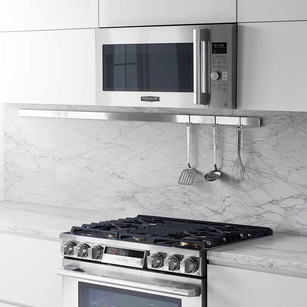 Signature Kitchen Suite, Pacific Sales, appliances, over the range ...