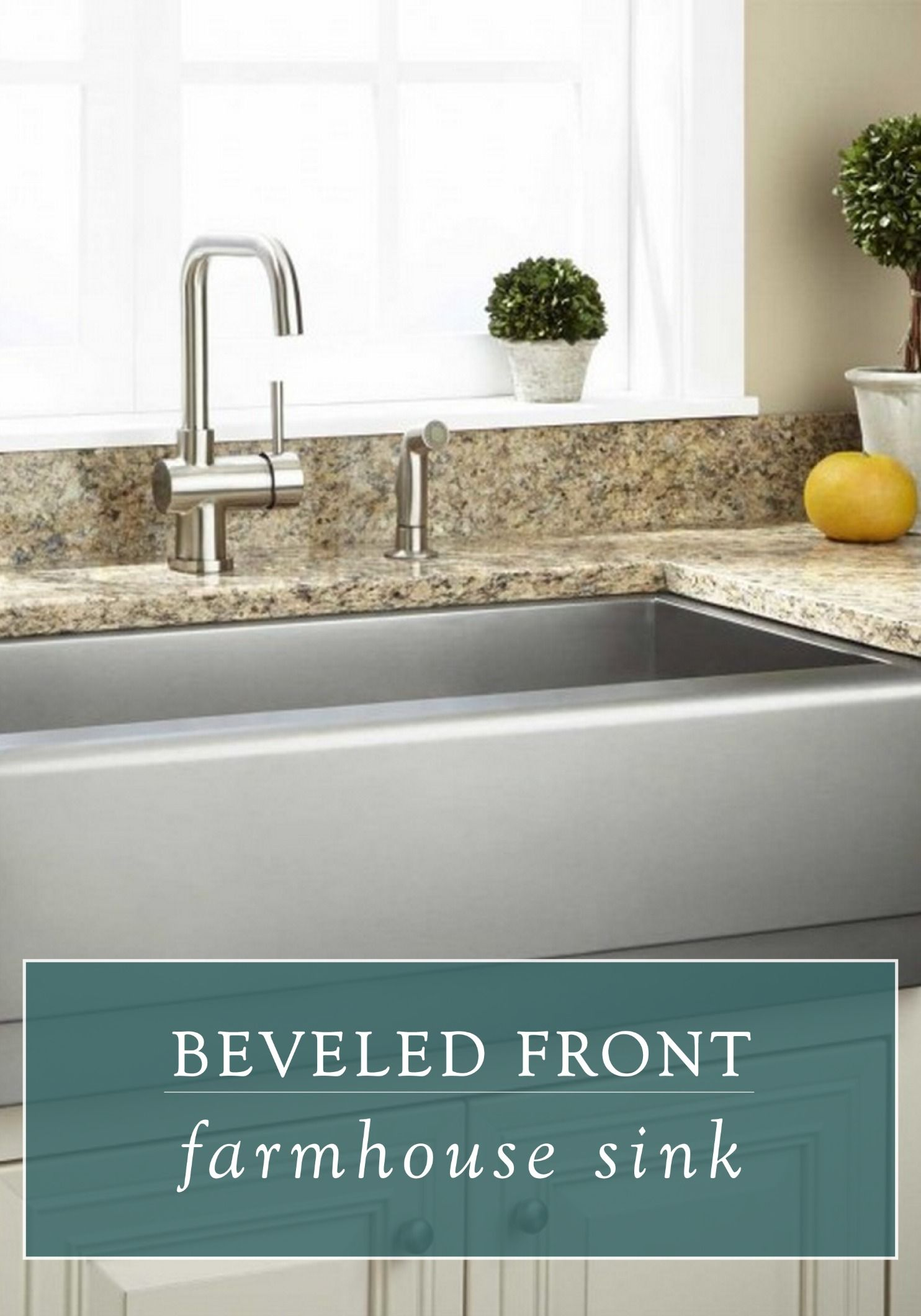 This Large Farmhouse Sink Features A Single Oversized Basin With A