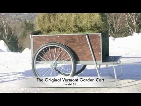 Large Garden Cart Carts Vermont the original garden cart Off