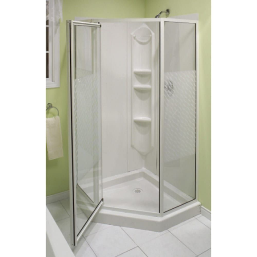 Maax Himalaya 38 Neoangle White Shower Sku 8016318 Corner