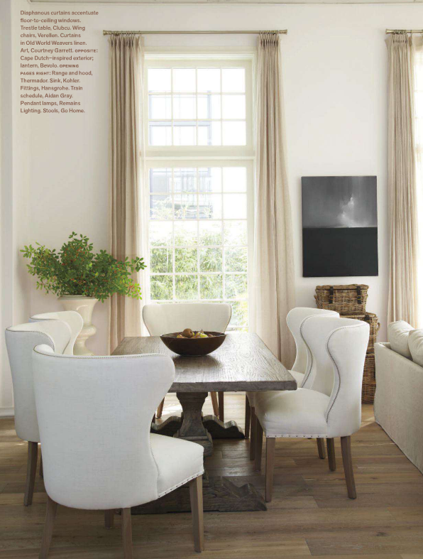 dining | pale neutrals