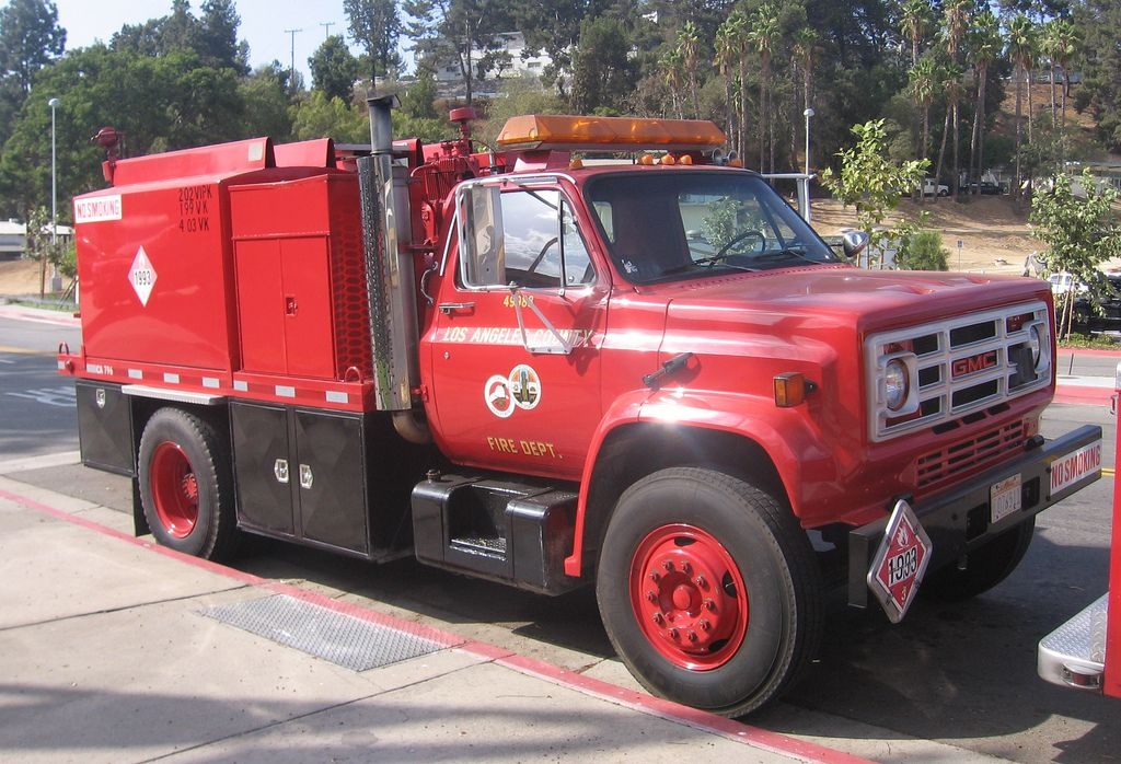 Lacofd Fuel Tender Fire Equipment Fire Dept Fire Trucks