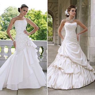 Ivory Vs White Wedding Dress
