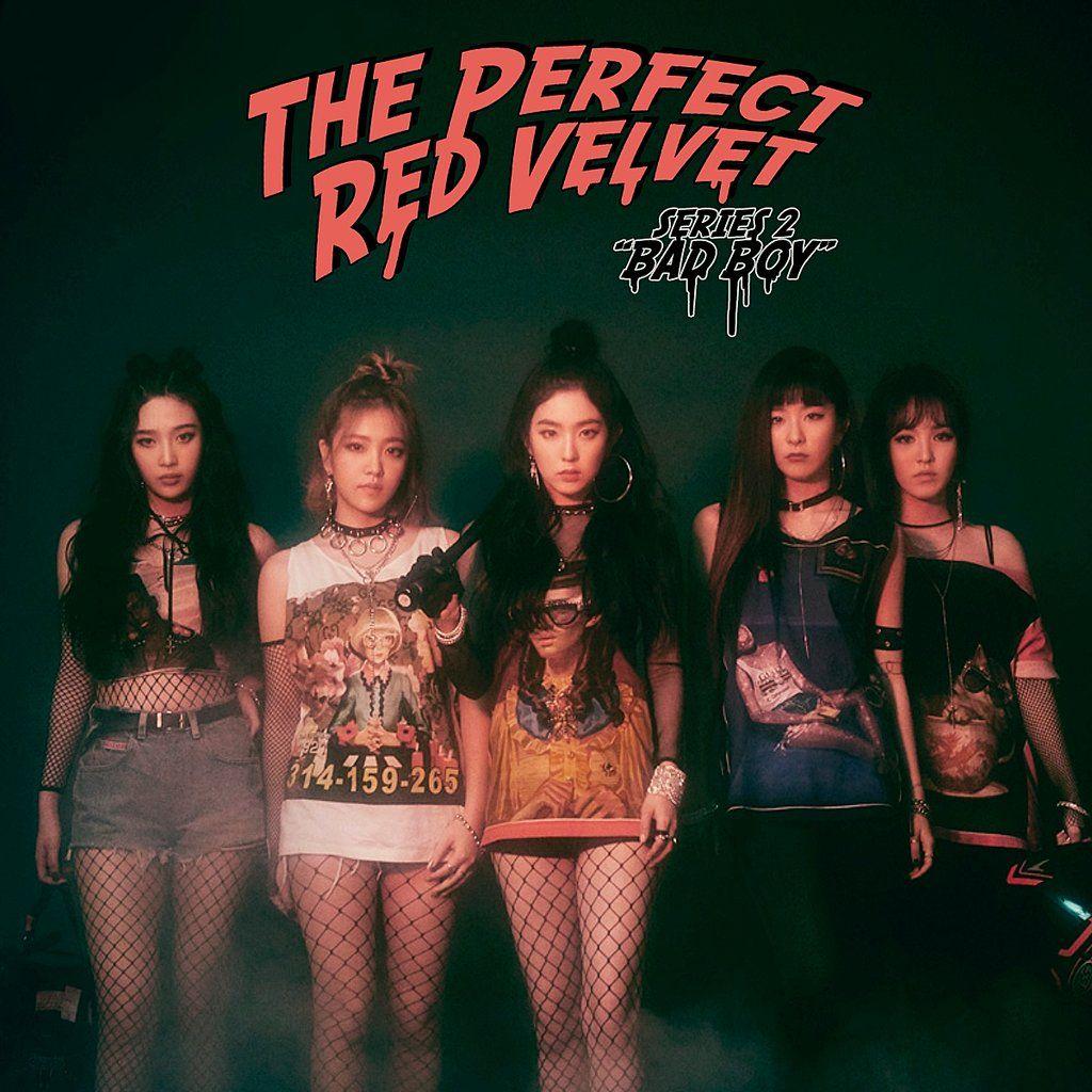 Red Velvet - Bad Boy Album Cover #1 by Mar96Ra | AlBum