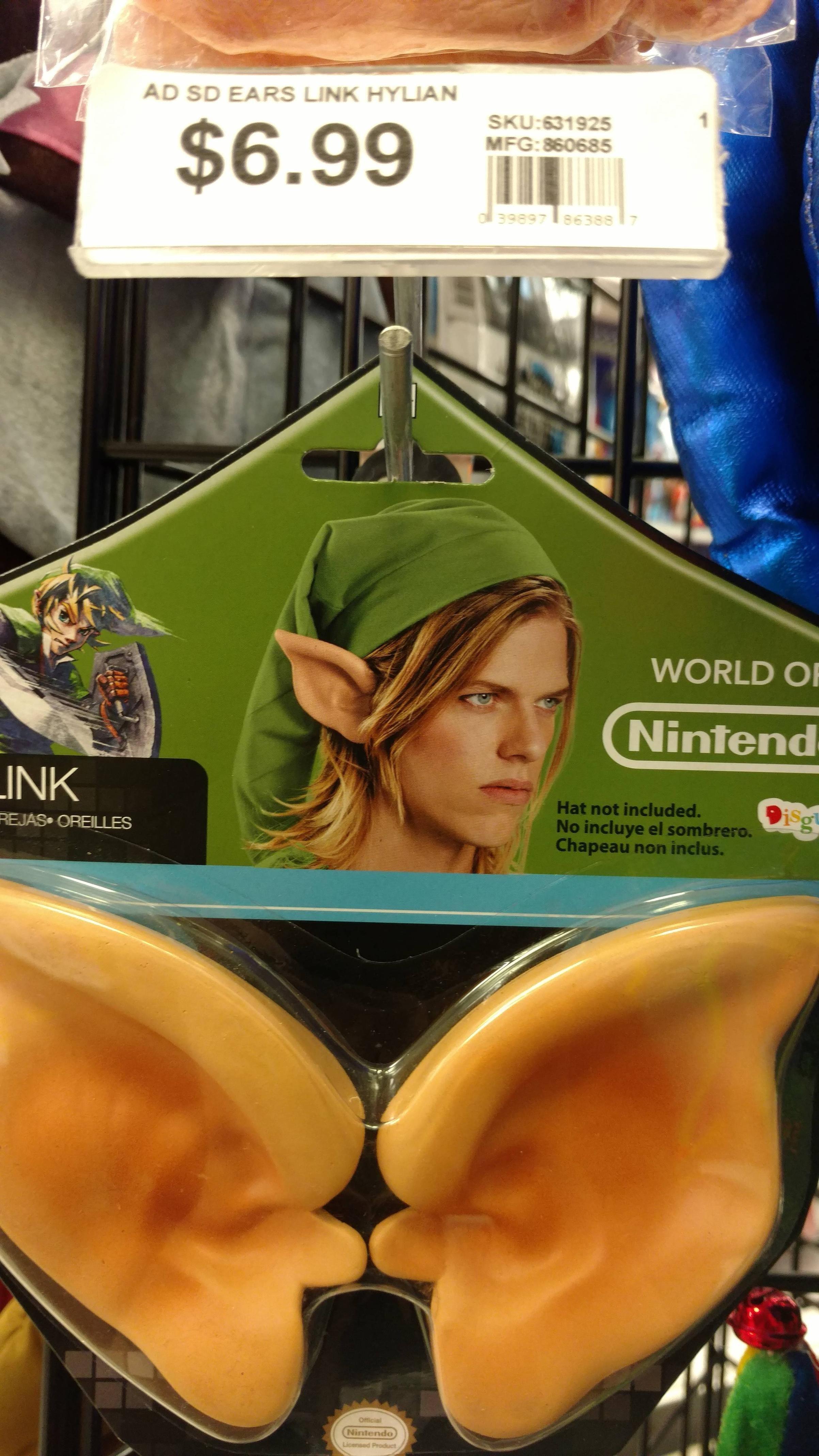 Link looks like he hates his life....