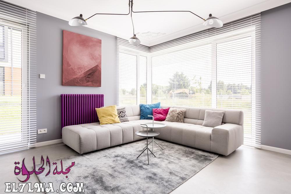 ديكورات صالات 2021 أجمل ديكور صالات تعد الصالة جزء رئيسي من المنزل بل هي الواجهة التي تعبر عن جمال وفخامة المنزل فهي بمثابة ال Interior Design Bay Window Home
