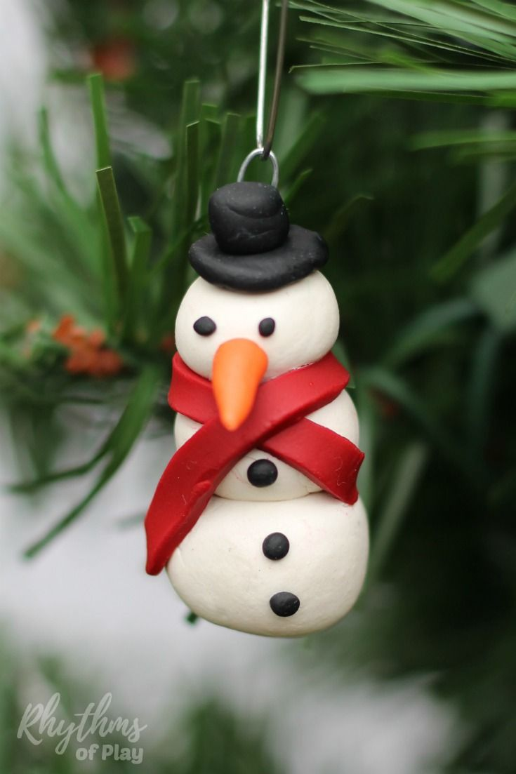 Diy Snowman Ornaments Rhythms Of Play Winter Crafts For Kids Christmas Crafts For Kids Christmas Crafts For Kids To Make