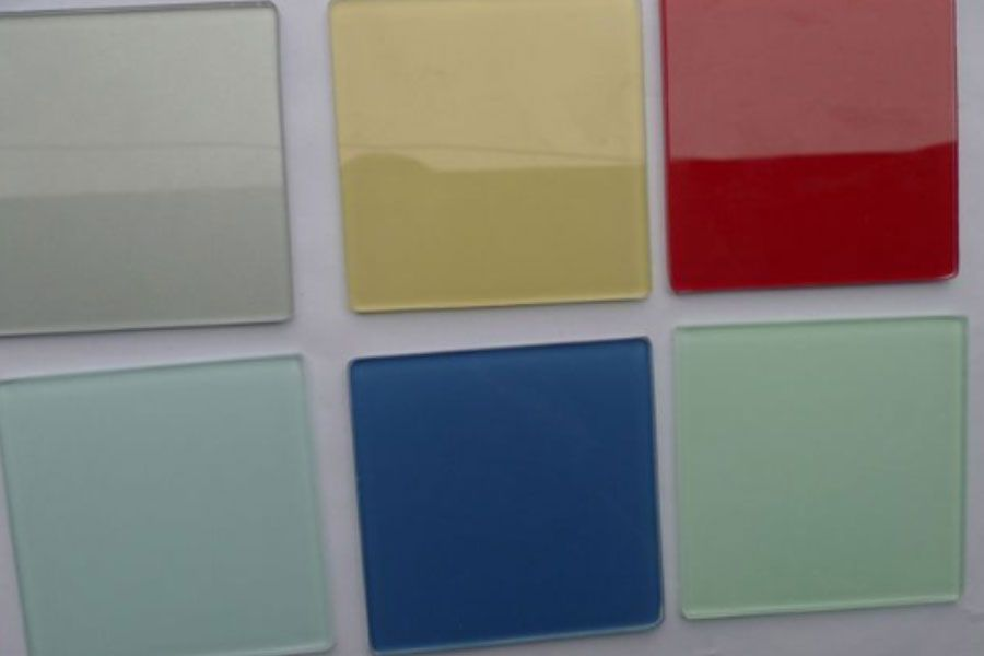 Best 25 back painted glass ideas on pinterest glass for Back painted glass tile