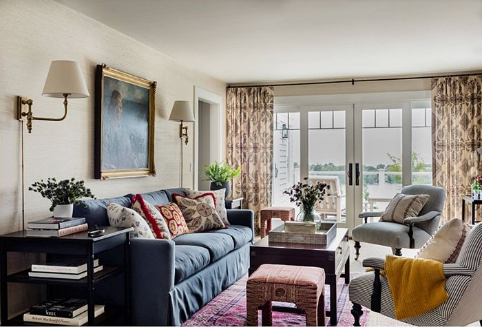 Traditional Cape Cod Charming Home Tour Romantic Victorian New Cape Cod Living Room