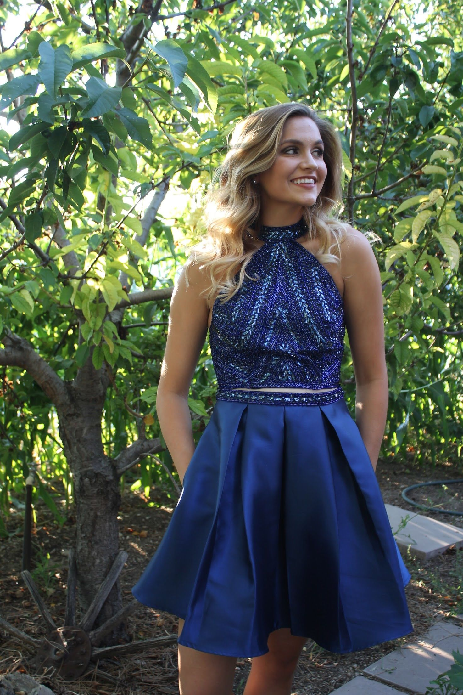Cute semi formal dresses available for rent at
