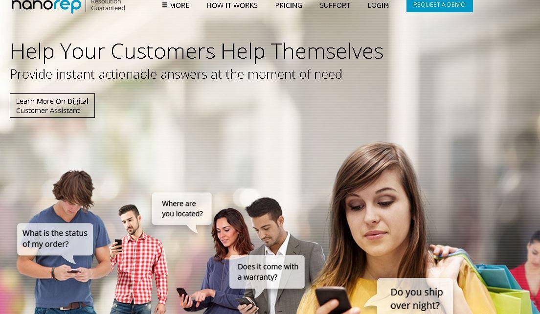 Nanorep Customer Support Tool