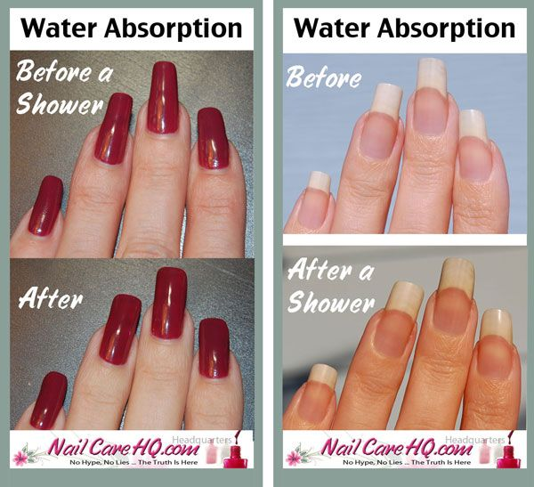 Chipped Nail Polish From The Shower? | Peeling nails, Manicure and ...