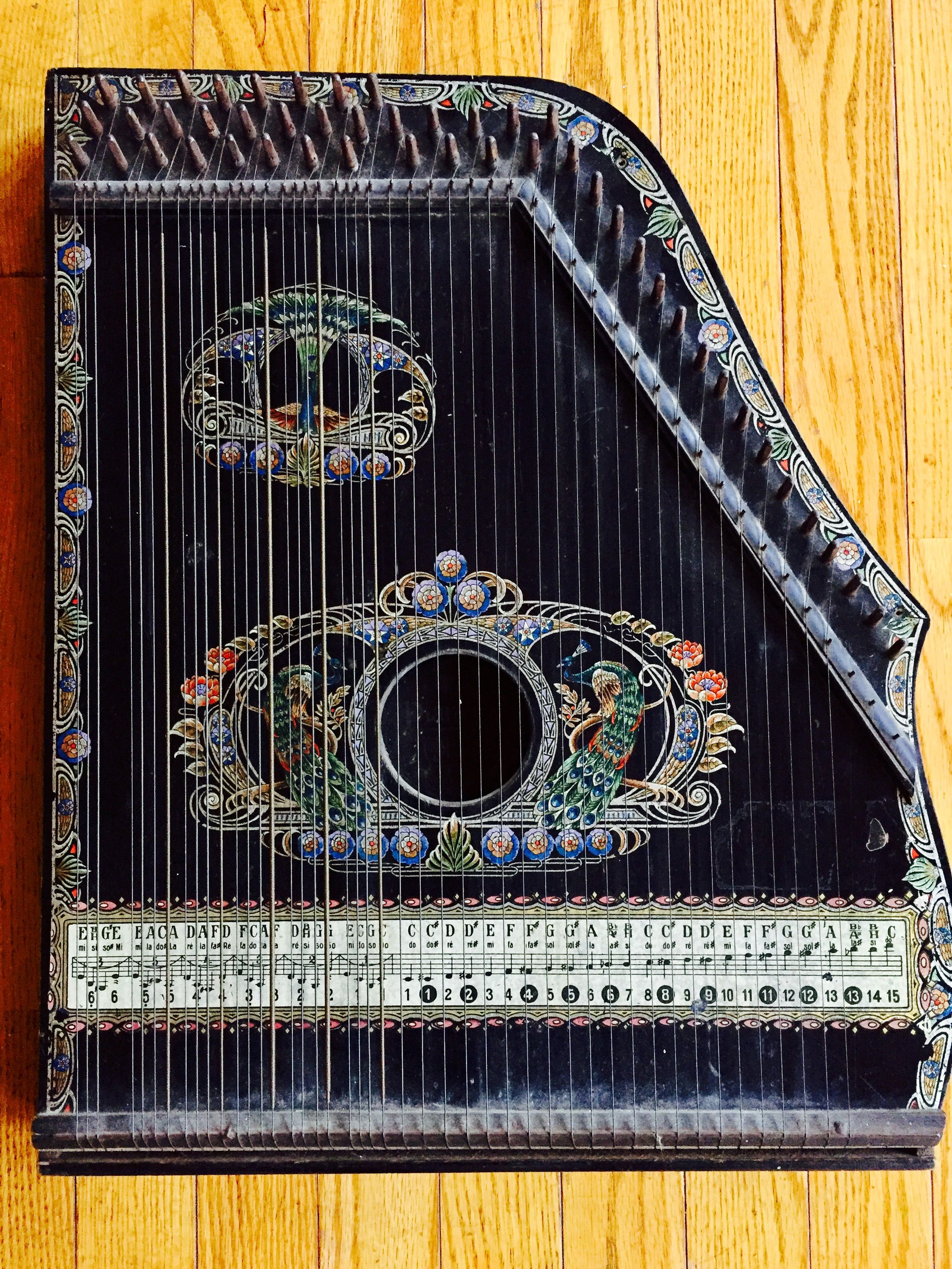 The Piano Chord Guitar Zither Menzenhauer No 3 12 C The