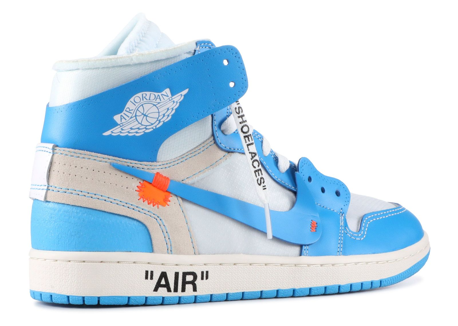 Jordan 1 Retro High Off White Off White Unc Air Jordans