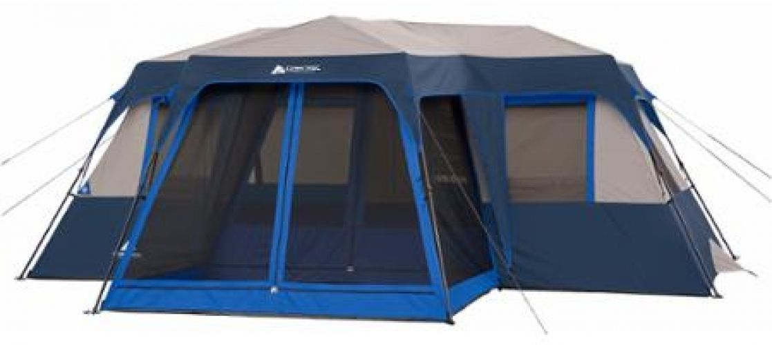 Ozark Trail 12 Person 2 Room Instant Cabin Tent With Screen Room  sc 1 st  Pinterest & Ozark Trail 12 Person 2 Room Instant Cabin Tent With Screen Room ...