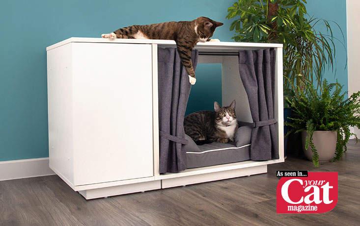 Maya Nook Luxury Indoor Cat House Cat Houses Indoor Cat House Indoor Cat