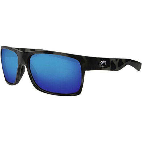 187fba8b620 Costa Ocearch Half Moon Sunglasses Tiger Shark Frame  Blue Mirror 580G  Glass Lens