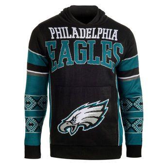 ebe0d48e Philadelphia Eagles Ugly Christmas Sweater Pullover Hoodie | Sports ...