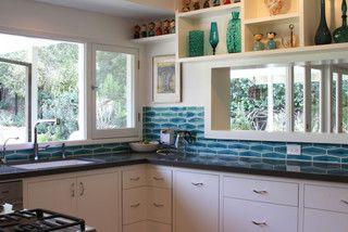 Mid Century Modern Pasadena Kitchen   Midcentury   Kitchen   Los Angeles    By Design