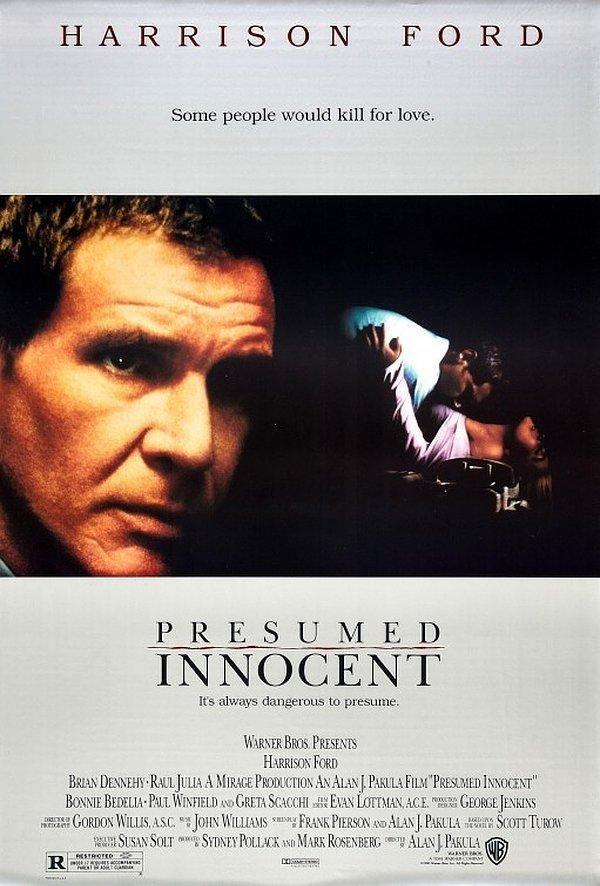 Presumed Innocent (1990) Neo Noir Type Movies Pinterest D - presumed innocent 1990