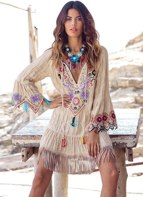 lange kleider hippie style  stylische kleider für jeden tag