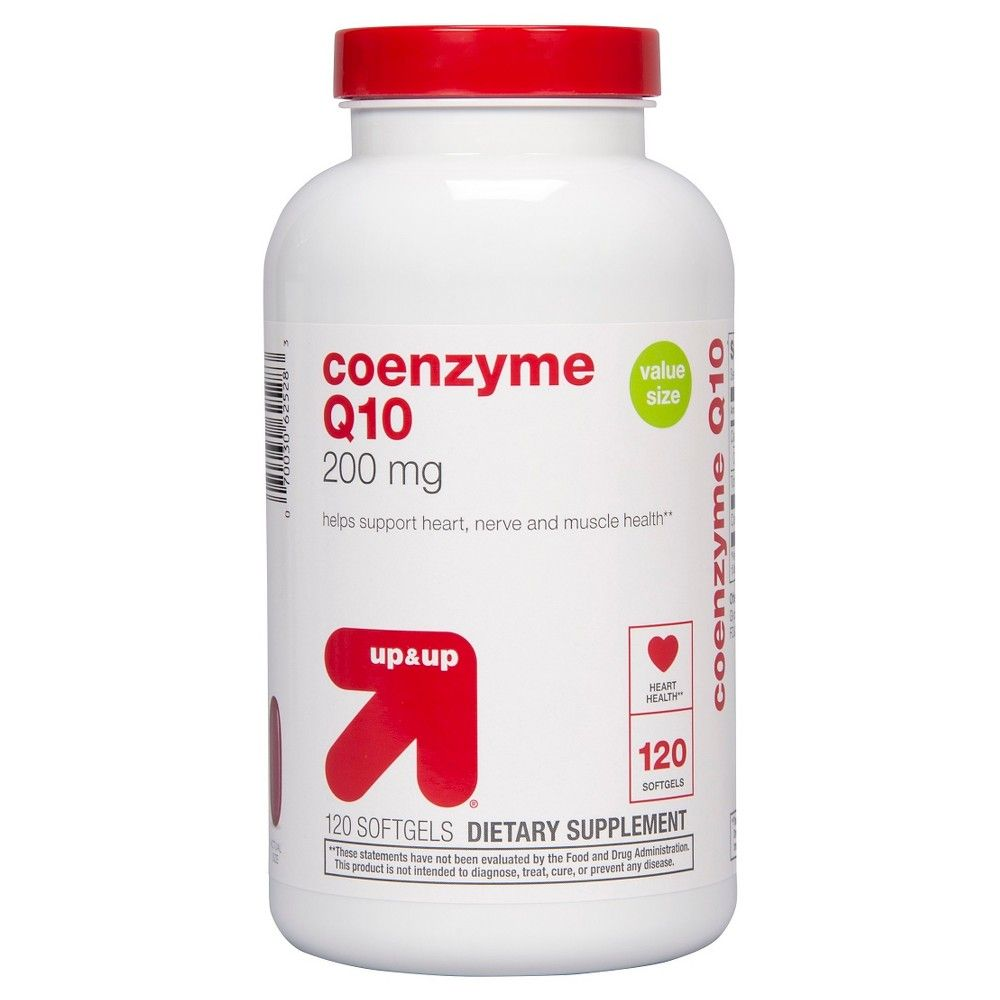 Coenzyme Q10 200 mg Softgels 120 Count - up & up
