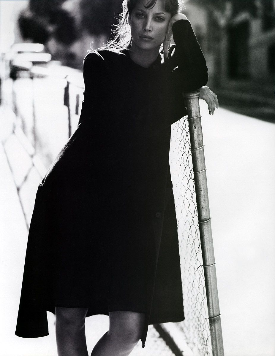 Christy Turlington by Kurt Markus - Mirabella Sept. 1994