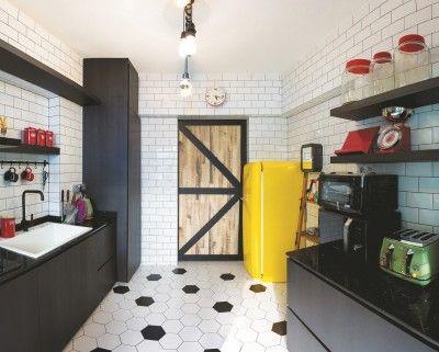 5 Room Bto Hdb Flat At Yishun  H2O Interior Renovation Impressive Kitchen Design Singapore Hdb Flat Inspiration