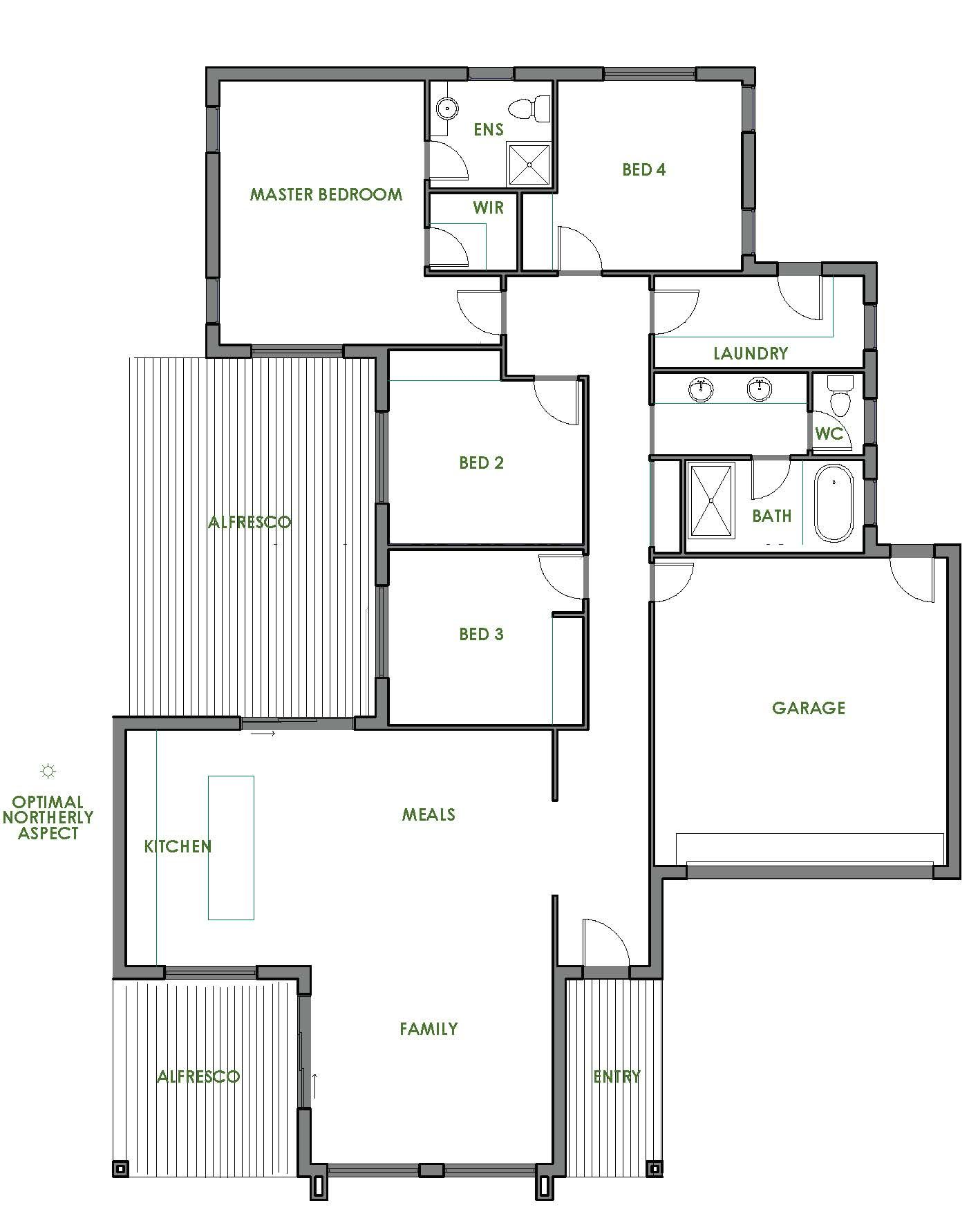 The Riverland Is A Stunning And Spacious Energy Efficient Home Design Offered By Green Homes Austral House Plans Energy Efficient House Plans Home Design Plans