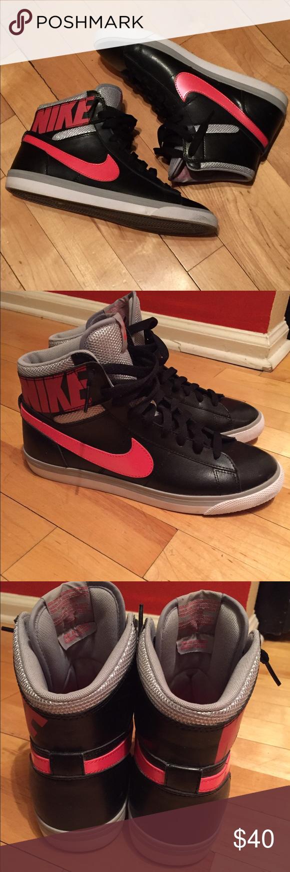 70ea8eb8aeea Nike Match Supreme Hi Leather Sneakers - RARE! Nike Match Supreme Hi  Leather Sneakers! High-Top. Rare! Pink