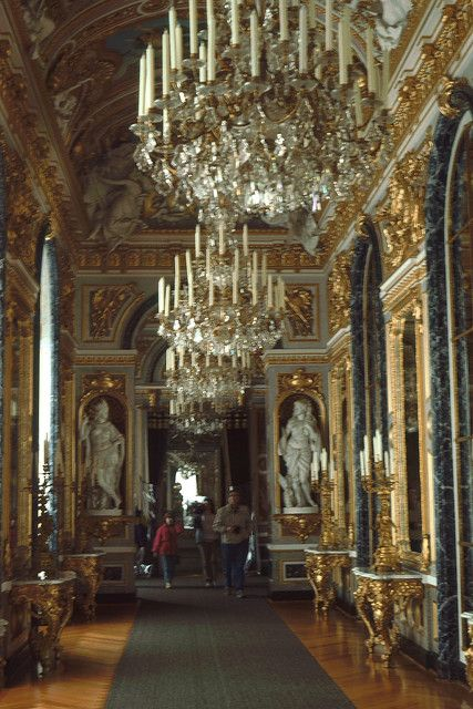 Herrenchiemsee New Palace Interior Palace Interior
